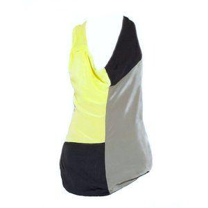 Alexander Wang Silk Color Block Tunic